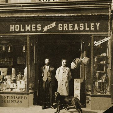 Holmes & Greasley - Unfinished Business